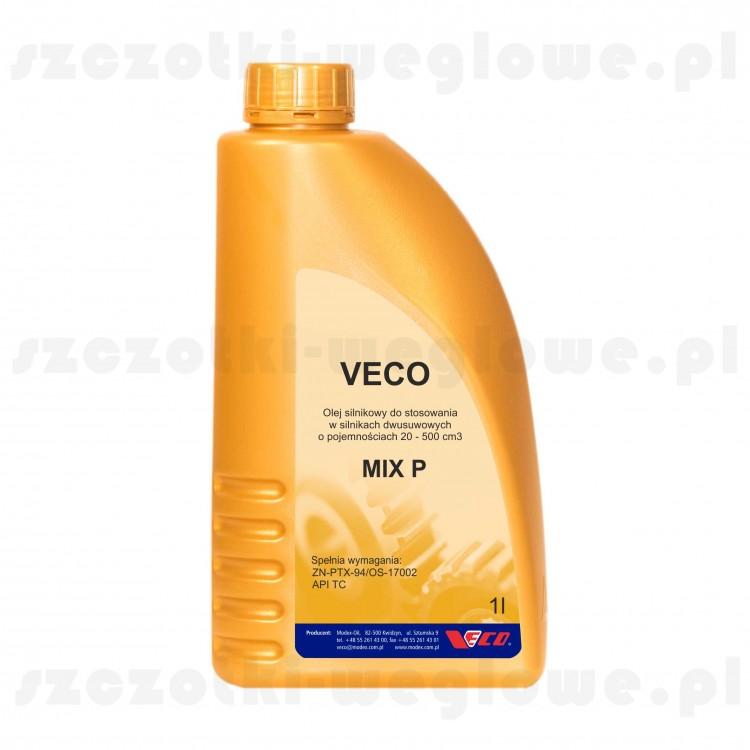 Olej do silników dwusuwowych VECO MIX P 1L ZIELONY